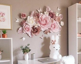 Paper Flower Decor Etsy