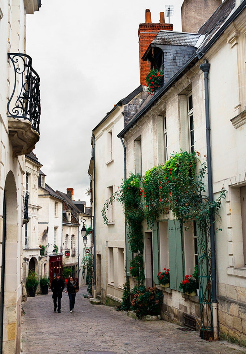 Medieval Town In France European Architecture Old Town Etsy