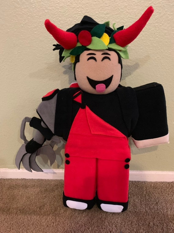 Buying Robloxian 20 Roblox Roblox Plush Make Your Own Robloxian Character Smaller Size Etsy