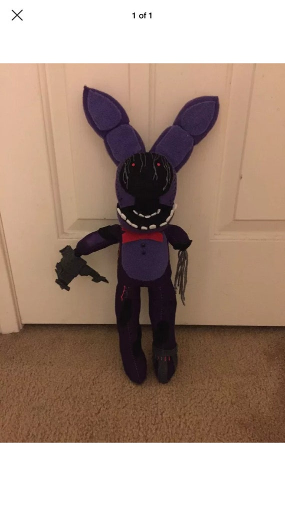 Items similar to Withered Bonnie Plush from Five Nights at Freddy's