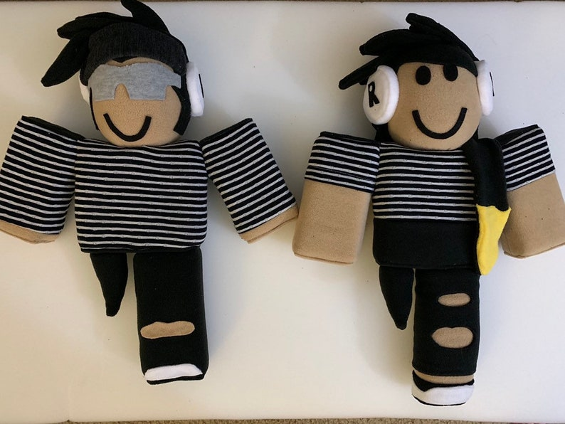 Roblox Plush Make Your Own Character Etsy