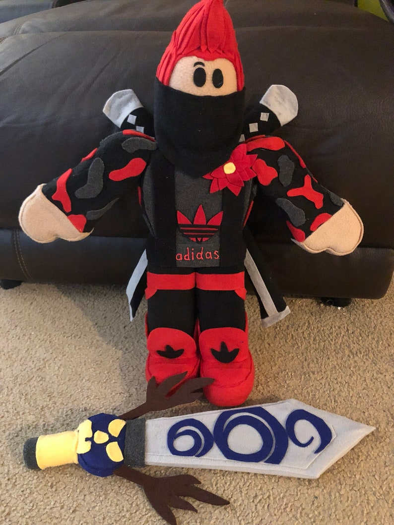 Roblox plush make your own character