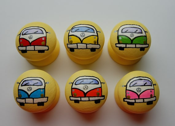 Set of 6 Campervan Drawer 3 Sizes Available