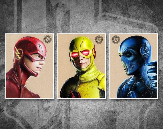 The Flash Print Pack - Fine Art Print Bundle