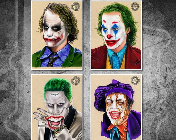 The Jokers Print Pack - Fine Art Print Bundle