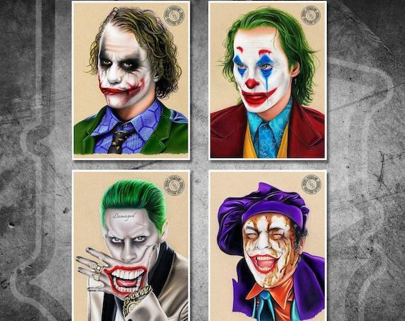 The Jokers Print Pack - Fine Art Print Bundle