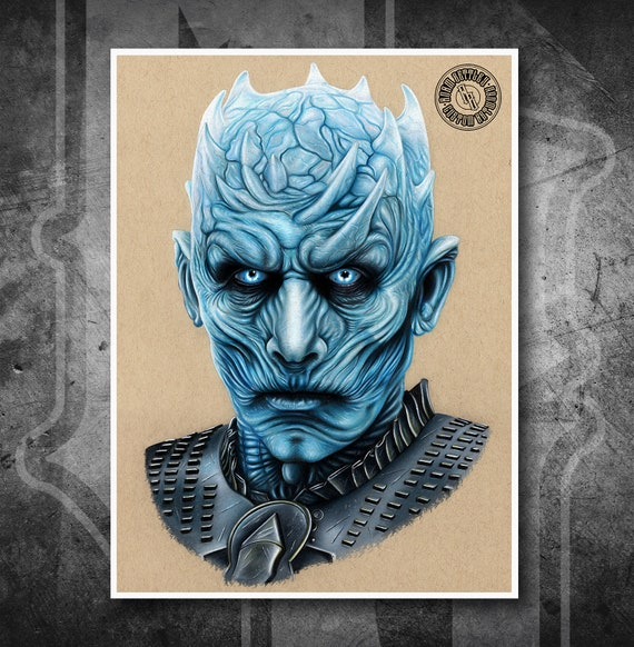 The Night King - Fine Art Print - Hand Drawing