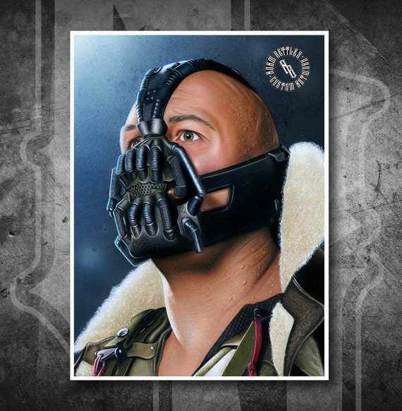 Bane - Fine Art Print - Hand Drawing