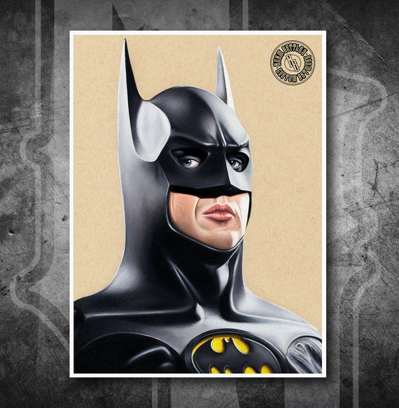 Batman Returns - Fine Art Print - Hand Drawing
