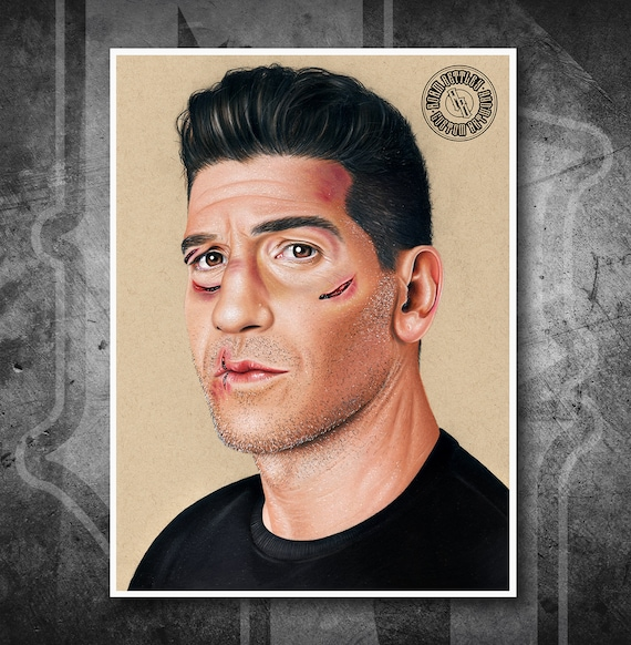 The Punisher - Fine Art Print - Hand Drawing