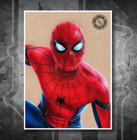A3 A4 Sizes Framed Option Spiderman Green Goblin Poster Canvas Art Print