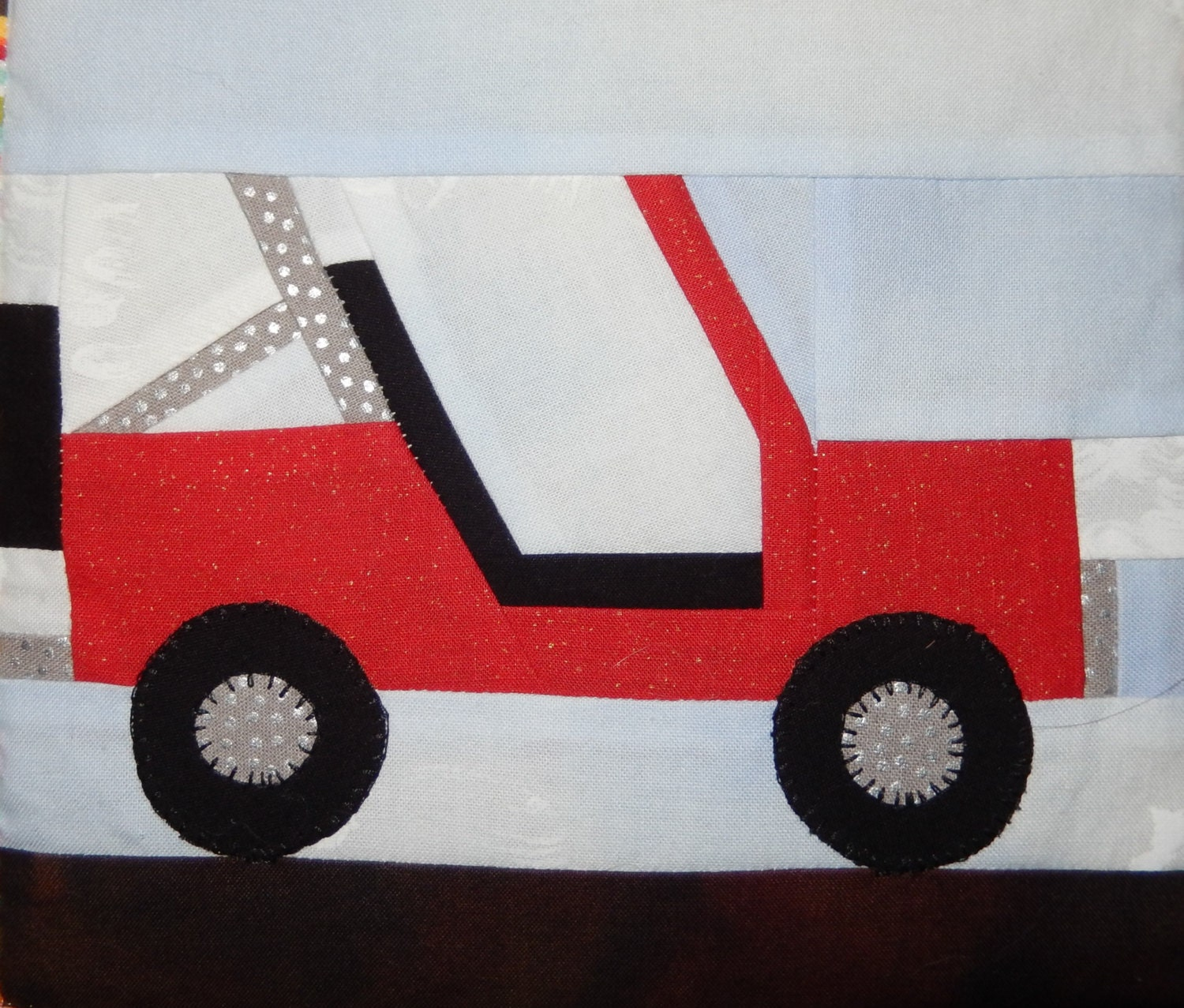 Open Roofed Jeep Vehicle Paper Pieced Pdf Quilt Block Pattern Etsy Diagrams Dragon School Of Motoring Zoomen