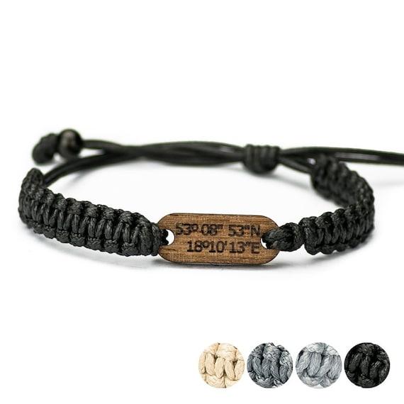Custom wood bracelet