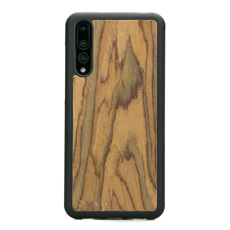 free shipping 1b9fe fb881 Wood Case For Huawei P20 / P20 PRO / P20 Lite - ROSEWOOD wood - Real  natural wooden case