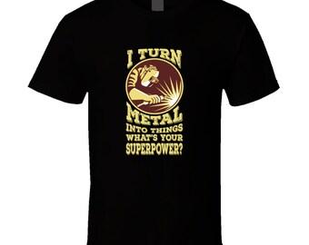 Soudage T S Drôle Standard Unisexe T-Shirt