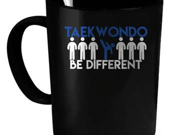 Taekwondo Coffee Mug 11 oz. Perfect Gift for Your Dad, Mom, Boyfriend, Girlfriend, or Friend - Proudly Made in the USA!
