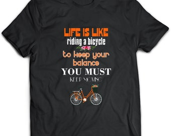 Bicycle Tshirt, Bicycle Gift, Bicycle Clothing, Bicycle Apparel, Bicycle Tee, Bike riding, Bicycle shirt