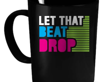DJ Coffee Mug 11 oz. Perfect Gift for Your Dad, Mom, Boyfriend, Girlfriend, or Friend - Proudly Made in the USA! DJ gift