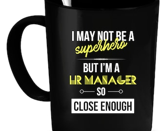 HR Manager Gift. HR Manager Mug. Boss gift. Coworker gift.