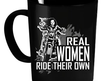 Motorcycling Coffee Mug 11 oz. Perfect Gift for Your Dad, Mom, Boyfriend, Girlfriend, or Friend - Proudly Made in the USA!