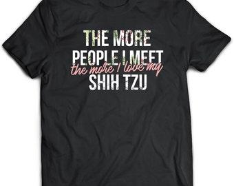 Shih tzu T-Shirt. Shih tzu tee present. Shih tzu tshirt gift idea. - Proudly Made in the USA!