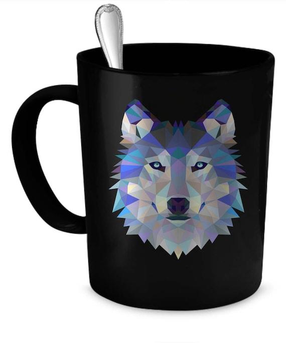 Wolf Mug Wolf Cup Wolf Coffee Mug Wolf Coffee Cup Etsy