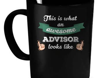 Advisor Coffee Mug 11 oz. Perfect Gift for Your Dad, Mom, Boyfriend, Girlfriend, or Friend - Proudly Made in the USA! Advisor gift
