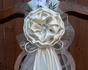 Wedding pew bows   Etsy