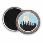 Scottish Standing Stones Fridge Scottish gift Fraser Tartan Fraser Plaid  kitchen magnet refrigerator magnet party favours