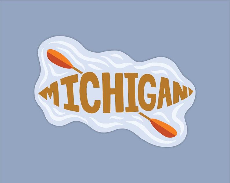 CanoeKayak Michigan Sticker