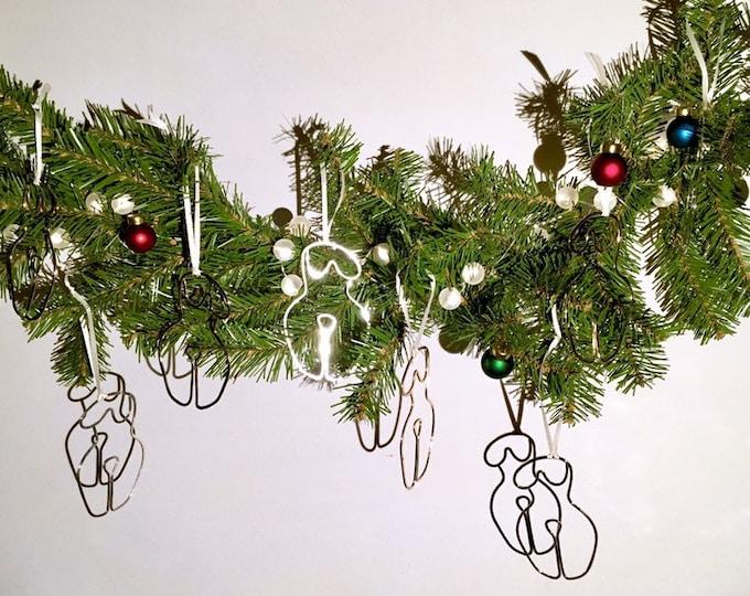 Lady ornaments