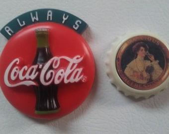 Amerikanischer Kühlschrank Coca Cola : Coca cola magnets etsy
