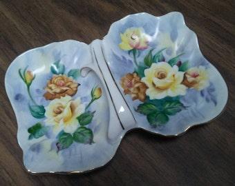 Ucagco HANDLED SERVING DISH,Porcelain,Japan