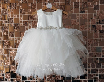 0a797086ef Tulle flower girl dress