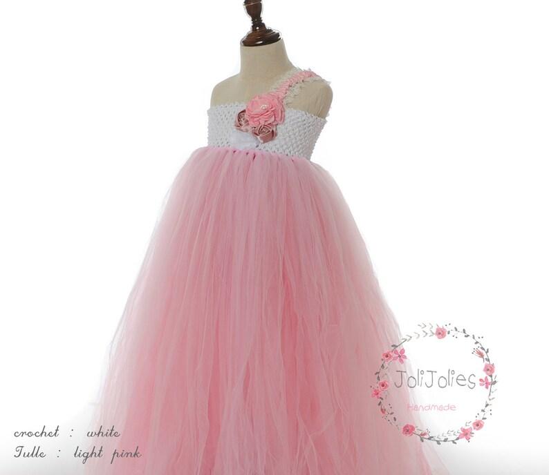 Coral Flower Girl Dresses for Weddings