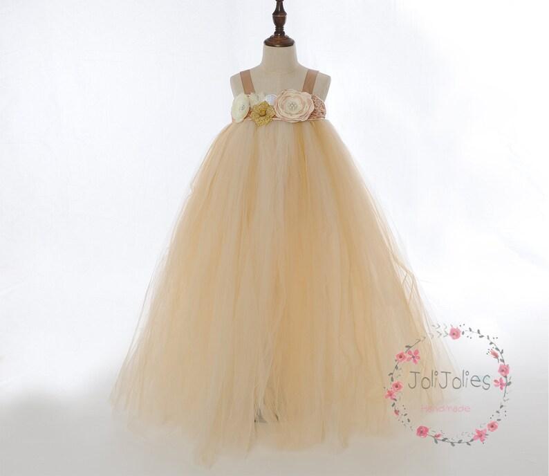 281df8f383e Customized Coral Flower Girl Dress Coral Tutu Dress Coral