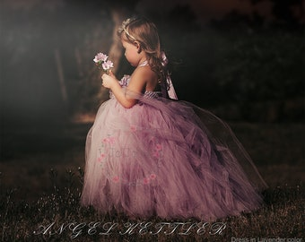 Customized Tulle Flower Girl Dress, Tulle Wedding Dress, Birthday Parties Dress *Mix & Match Your Favorite Color*