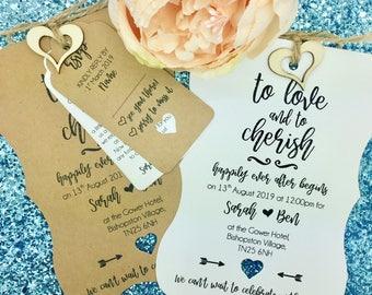 Rustic Wedding Invitation, Vintage Wedding Invitation Bundle