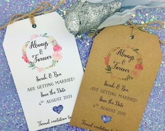Magnet The Date Card Wedding Invitation with Envelope