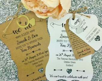 Wedding Vow Renewal Invitation, We Still Do, Wedding Anniversary Invitation