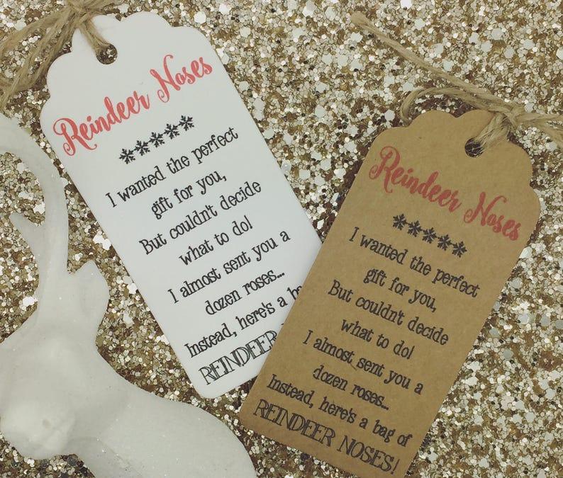 Christmas Card// Gift Tag Xmas Party Present Tree Tie Wrap Snowman Poop Poem