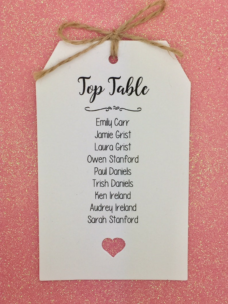 Seating Chart Wedding Seating Cards Seating Plan Tags Find Your Seat