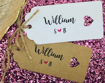 Place Name Tags, Wedding Table Plan, Wedding Place Cards, First Meal