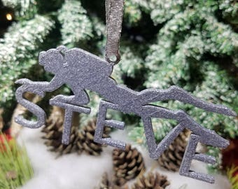 Personalize Scuba Ornament - Scuba Diver Ornament - Personalized Ornament - Scuba Diver Gift - Scuba Ornament - Diver Christmas Oranment
