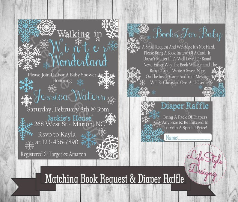01a56b147 A Winter Wonderland Baby Shower Baby Its Cold Outside Baby