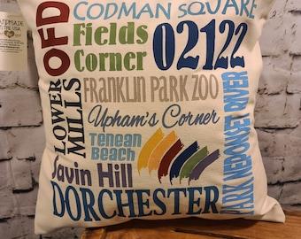 """Dorchester OFD  17"""" Pillow"""