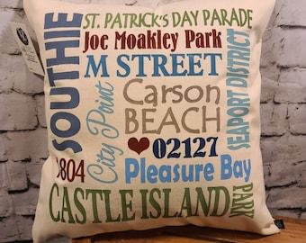 "Southie 17"" Pillow"