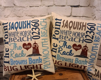"""Plymouth 17"""" Pillow"""