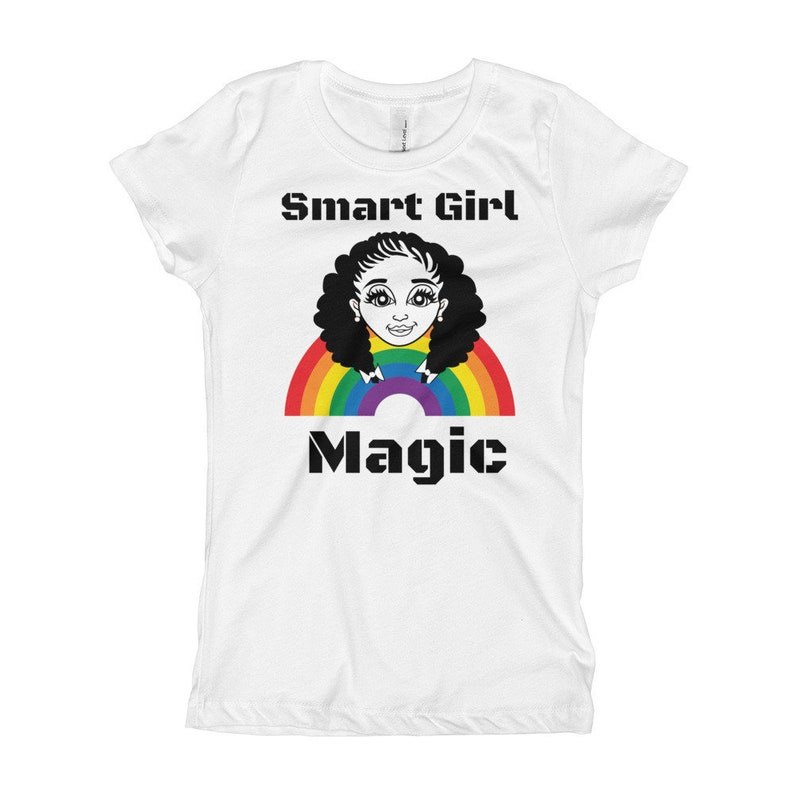96b39a75 Black Girl Magic ShirtBlack Girls Rock Shirt-Smart Girl | Etsy