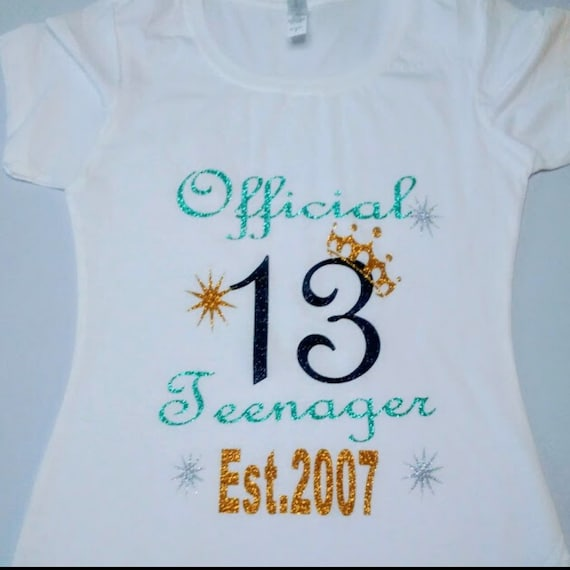 13th Birthday Gifts Presents for Year Old Girl Marvelous 13 Year Old T Shirt